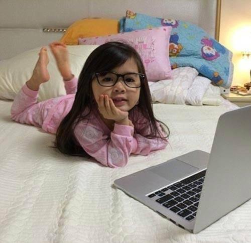 مشهورترین دختر بچه اینستاگرام