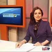 حضور مجری زن شبکه جم در قم + عکس