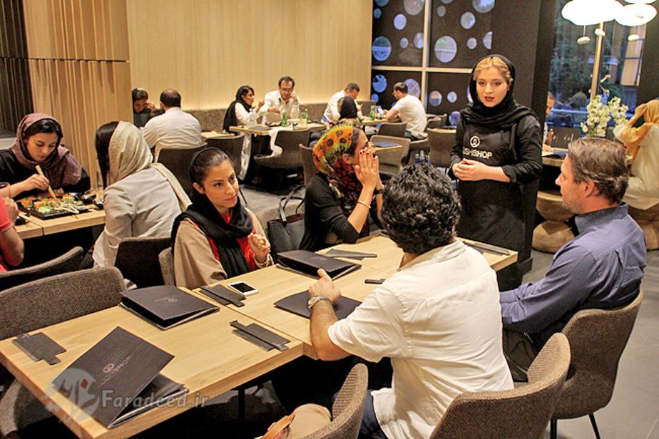 افتتاح اولین رستوران اروپایی در تهران
