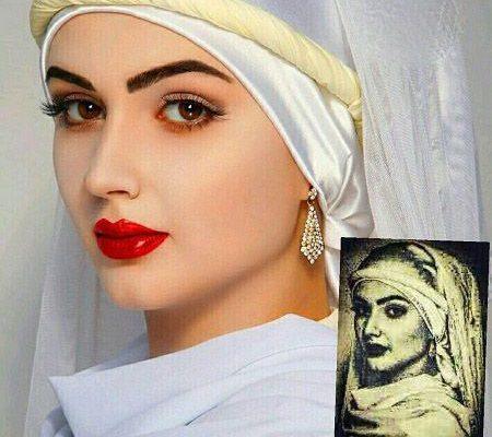 عکس زیباترین زن مصر