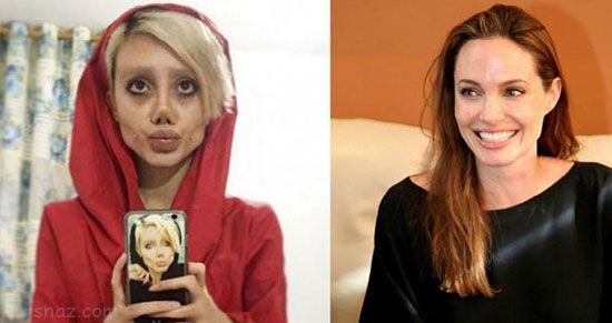 دختر ایرانی که به زامبی تبدیل شد