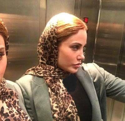 رامانا بدل ایرانی آنجلینا جولی