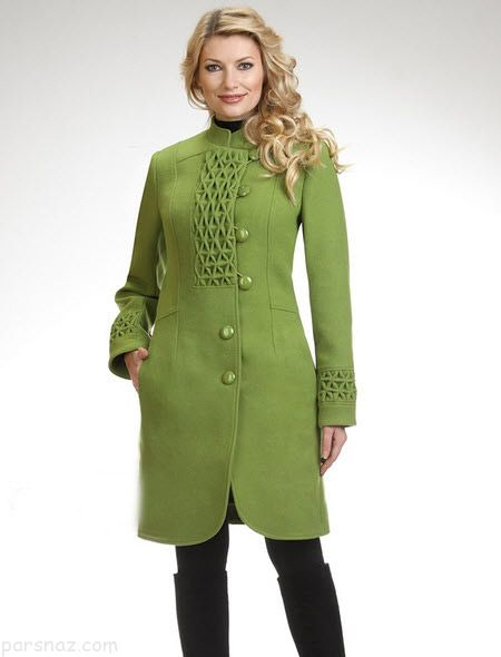 مدل پالتو زنانه زمستانی