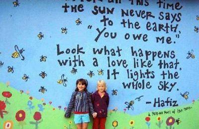 مقایسه دیوار مهد کودک در اروپا و ایران