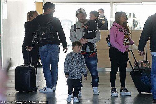 تفریح مسی به همراه خانواده در تعطیلات
