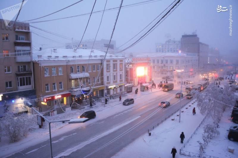 سردترین شهر