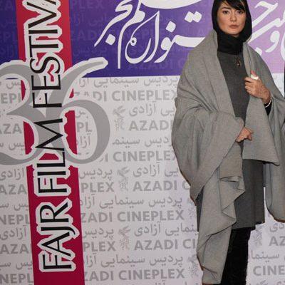 لباس بازیگر زن جشنواره فجر سوژه شد