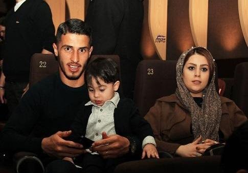 عکس های جدید علیپور و همسرش