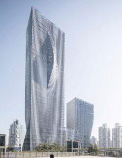 برجهای چینی با قابلیت کنترل نور خورشید