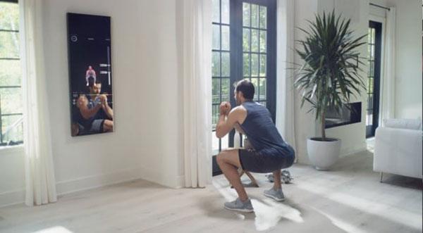 آینهای که اندام شما را متناسب میکند
