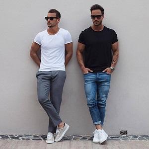تکنیک های پوشیدن تیشرت مردانه
