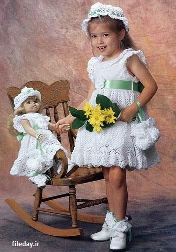عکس لباس کاموایی دخترانه