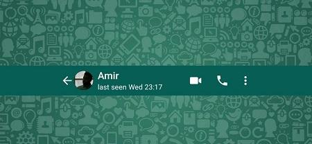مخفی کردن وضعیت آنلاین در واتساپ