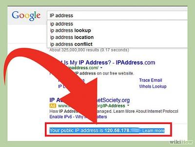 روش های پیدا کردن آدرس IP کامپیوتر