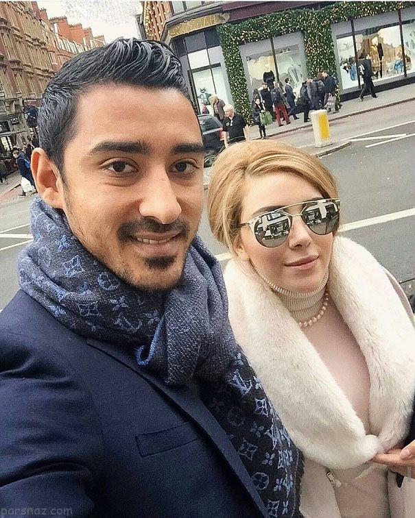 سروین بیات همسر قوچان نژاد باردار شد