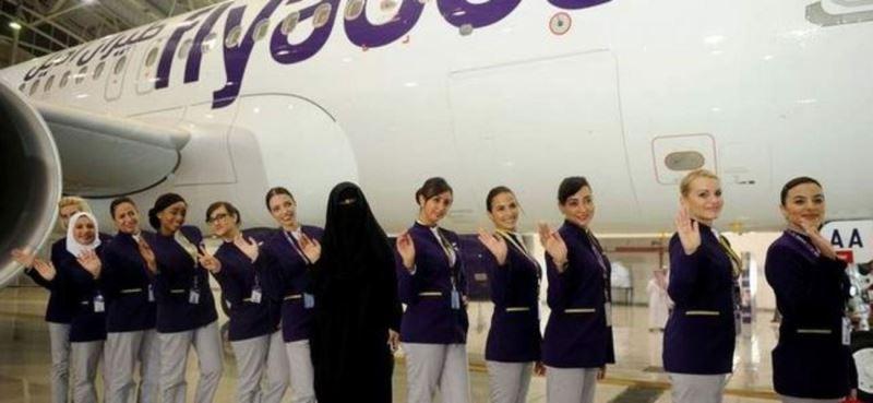 تصویر مهماندار هواپیما که سوژه شد!