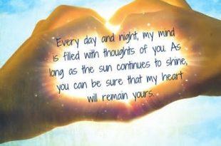 جملات زیبا در مورد عشق