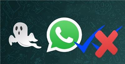 مخفی شدن در واتساپ