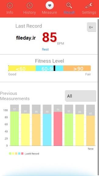 ضربان قلب سنج Heart Rate Monitor 68
