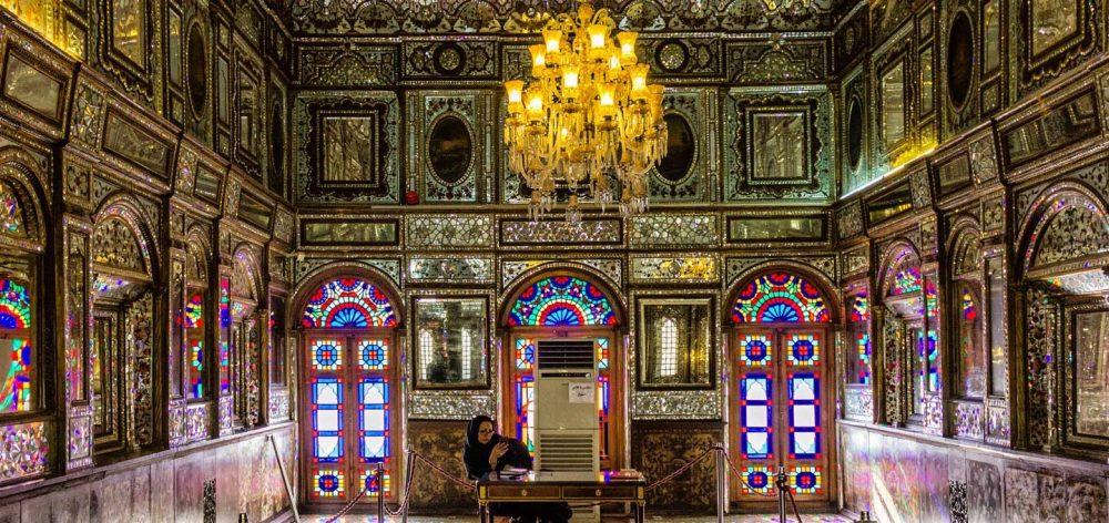 نمایش مشق های ناصرالدین شاه در حوضخانه کاخ گلستان