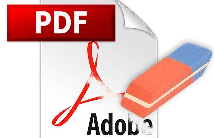 حذف متن در pdf اندروید